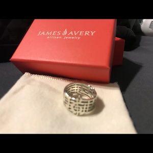 Rare James Avery Amazing Grace Ring